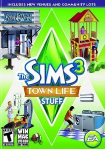 The Sims 3: Town Life Stuff - crack v1.0 ENG/RUS + keygen