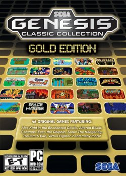 Sega Genesis: Classic Collection - Gold Edition - crack