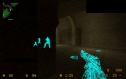 Wallhack R2 для Counter Strike Source