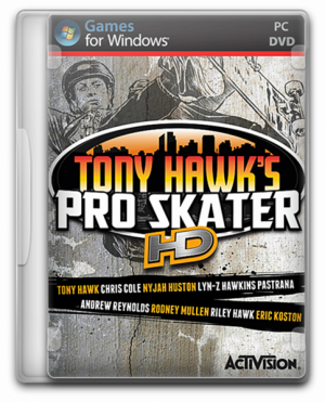 Tony Hawk's Pro Skater HD русификатор (Текст)
