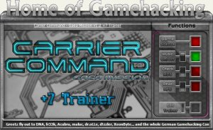 Carrier Command - Gaea Mission Трейнер +7 (чит)