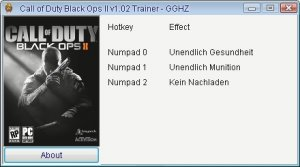 Call of Duty  Black Ops 2 трейнер +3 (чит)