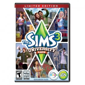 The Sims 3: University Life crack + KeyGen