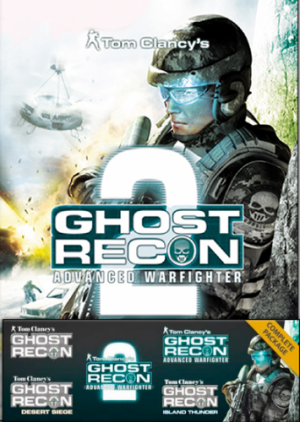 Tom Clancy's Ghost Recon Complete Pack русификатор (текст + звук)