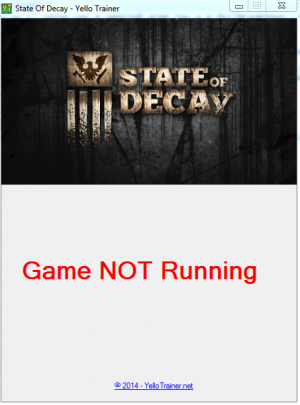 State of Decay трейнер +8 (чит)