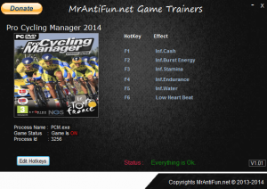 Pro Cycling Manager 2014 трейнер +6 (чит)